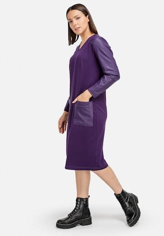 HELMIDGE Sheath Dress in Purple