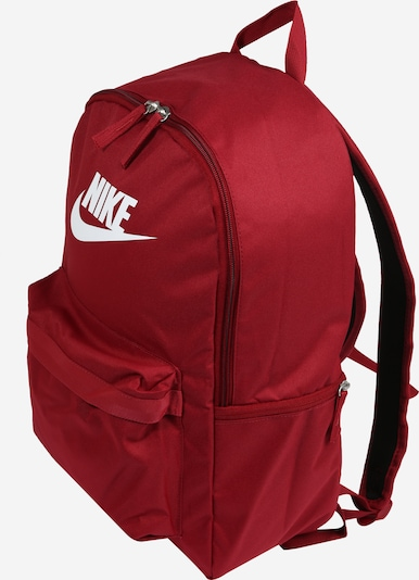 Nike Sportswear Backpack in Red / White, Item view