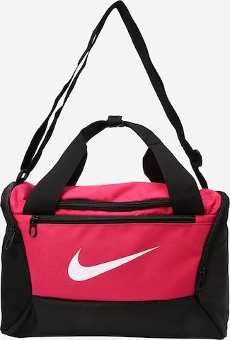 NIKE Spordikott 'Brasilia Training Duffle Bag', värv roosa
