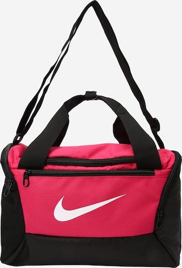 NIKE Sporttasche 'Brasilia Training Duffle Bag' in pink / schwarz, Produktansicht