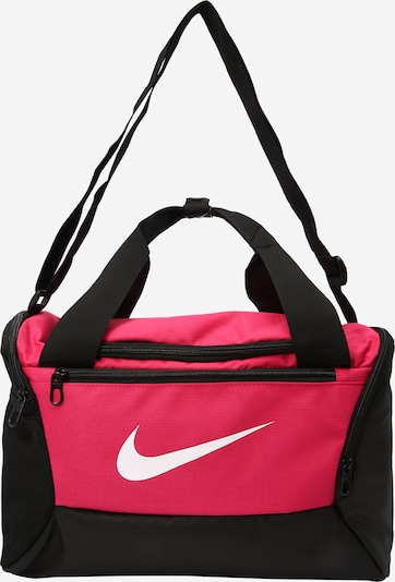 NIKE Sportväska 'Brasilia Training Duffle Bag' i rosa / svart, Produktvy