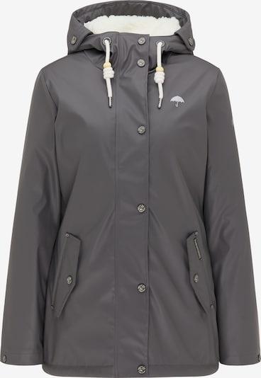 Schmuddelwedda Regenjacke in grau, Produktansicht