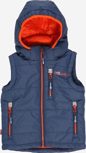 TROLLKIDS Sportovní vesta 'Narvik' - tmavě modrá / oranžová, Produkt