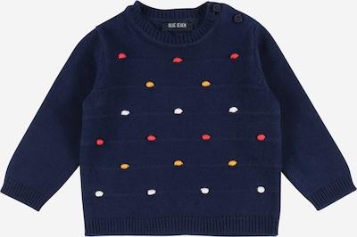 Megztinis iš BLUE SEVEN, spalva – mėlyna / geltona / melionų spalva / balta, Prekių apžvalga