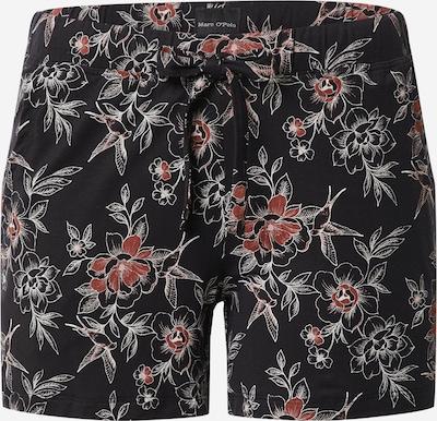 Marc O'Polo Bodywear Pyjamahose in anthrazit / rot / weiß, Produktansicht