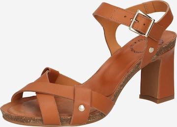 Ca'Shott Sandale in Orange