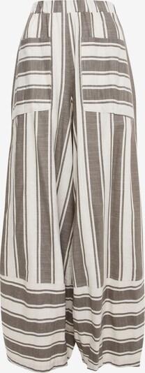 Madam-T Harembroek 'Cabula' in de kleur Bruin / Wit, Productweergave