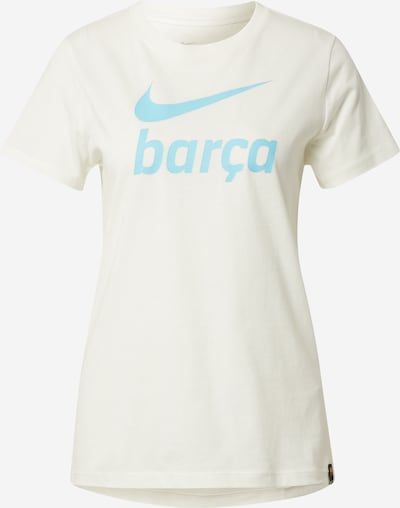 NIKE Funkční tričko 'FC Barcelona' - béžová / světlemodrá, Produkt