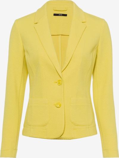 zero Blazer in gelb, Produktansicht