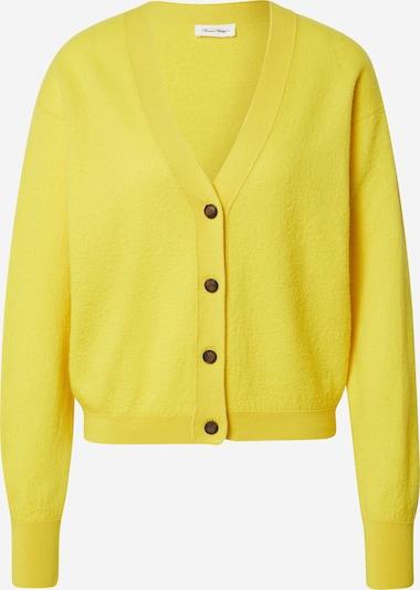 Geacă tricotată 'Tadbow' AMERICAN VINTAGE pe galben, Vizualizare produs