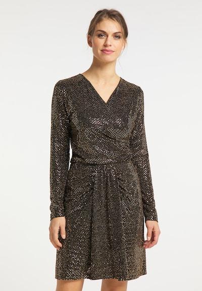 usha BLACK LABEL Bluse in gold / schwarz, Modelansicht