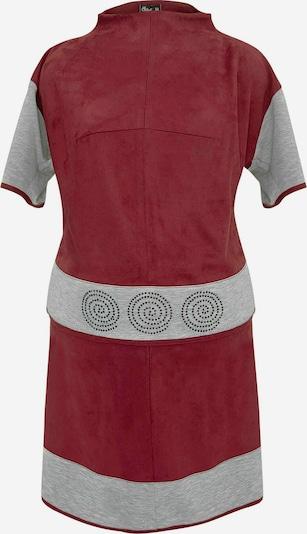 Wisell Kostüm in grau / rot / dunkelrot, Produktansicht