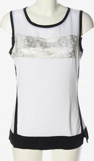 Blacky Dress Blusentop in L in silber / weiß, Produktansicht