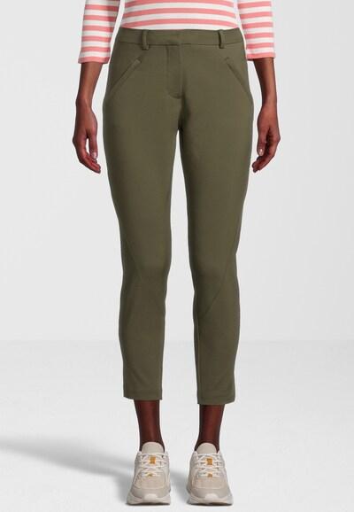 FIVEUNITS Hose 'Angelie Zip 238' in grün / khaki, Modelansicht
