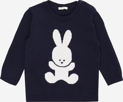 Pullover UNITED COLORS OF BENETTON di colore navy / bianco, Visualizzazione prodotti