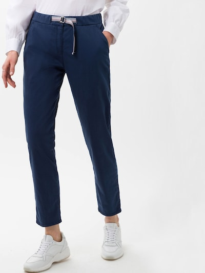 BRAX Pantalón chino 'Mel S' en añil, Vista del modelo