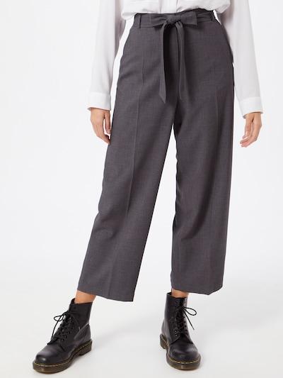 Pantaloni con piega frontale ESPRIT di colore grigio, Visualizzazione modelli