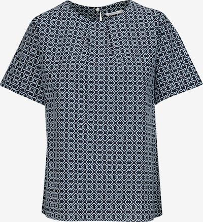 SEIDENSTICKER Bluse in nachtblau / weiß, Produktansicht