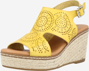 Xti Sandale in Gelb