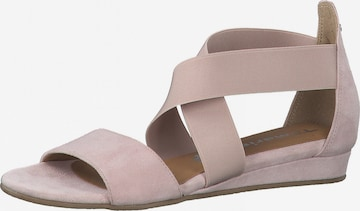 TAMARIS Sandale in Pink