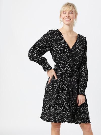 SISTERS POINT Kleid 'NEW GERDO' in schwarz / weiß, Modelansicht