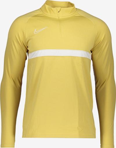 NIKE Sportsweatshirt 'Academy' in gelb / weiß, Produktansicht