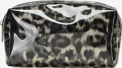 MYMO Kosmetiktasche in beige / schwarz, Produktansicht