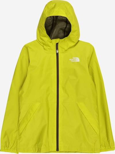 THE NORTH FACE Sportjacke in kiwi / weiß, Produktansicht