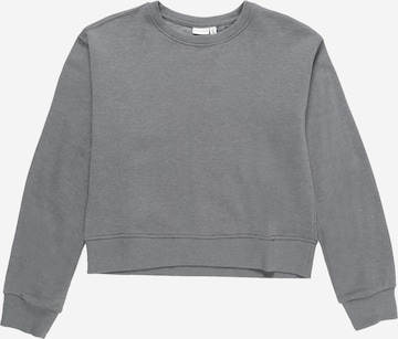 NAME IT Sweatshirt 'VILUNA' i grå