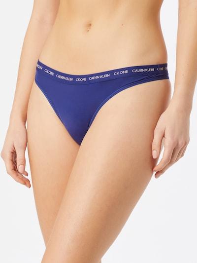 Siaurikės iš Calvin Klein Underwear , spalva - mėlyna / balta: Vaizdas iš priekio