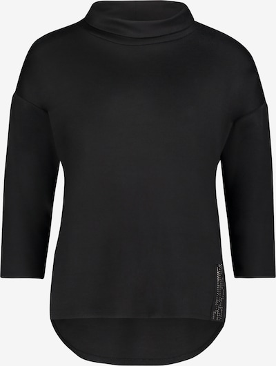 Betty Barclay Sweatshirt mit Kragen in schwarz, Produktansicht