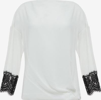 faina Bluse in schwarz / weiß, Produktansicht