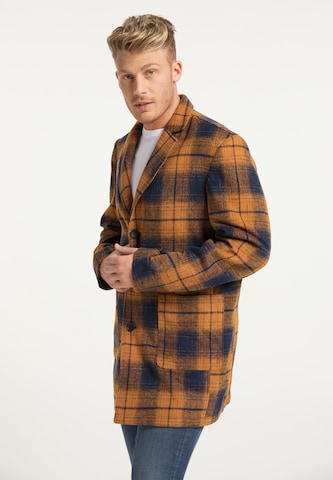 Manteau mi-saison MO en orange