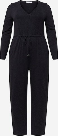ABOUT YOU Curvy Jumpsuit 'Avena' in Black