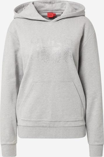 HUGO Sweatshirt 'Dasara' in Grey / Transparent, Item view