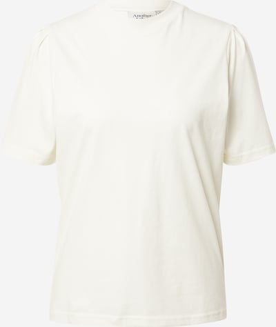 Tricou 'Gaure' Another Label pe alb murdar, Vizualizare produs