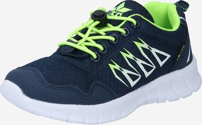 Sneaker LICO di colore marino / giallo neon, Visualizzazione prodotti