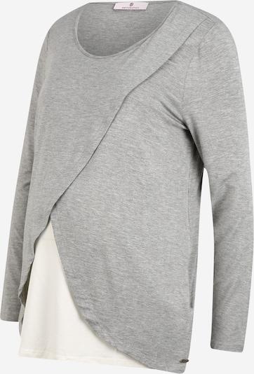 BELLYBUTTON Тениска в сив меланж / бяло, Преглед на продукта
