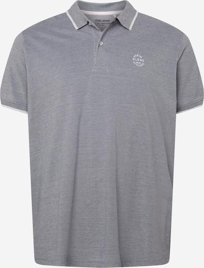 Blend Big Poloshirt 'NATE' in taubenblau, Produktansicht
