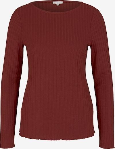 TOM TAILOR T-Shirt in rot, Produktansicht