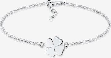 ELLI Bracelet 'Kleeblatt' in Silver