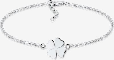 ELLI Armband 'Kleeblatt' in silber, Produktansicht