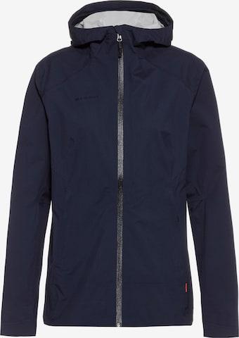 MAMMUT Outdoor Jacket 'Albula' in Blue