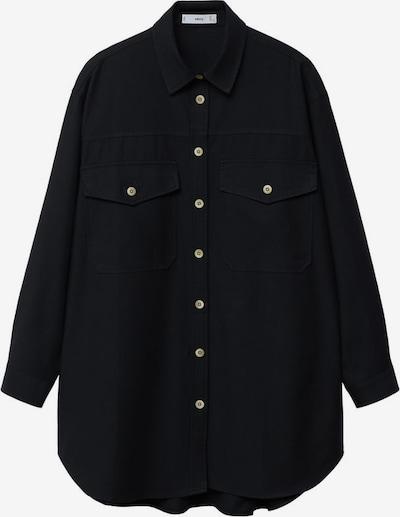 MANGO Bluse in beige / schwarz, Produktansicht