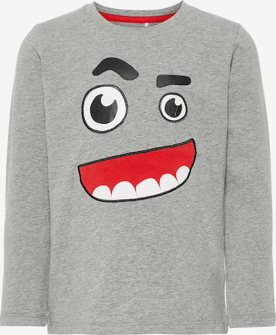 NAME IT Shirt in grau: Frontalansicht