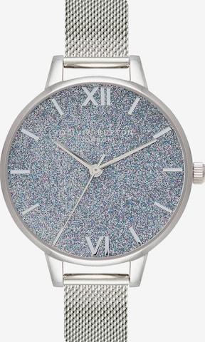 Olivia Burton Analog Watch in Silver