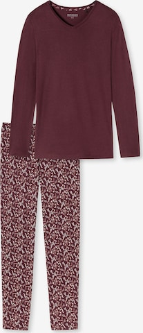 SCHIESSER Pyjamas i rød
