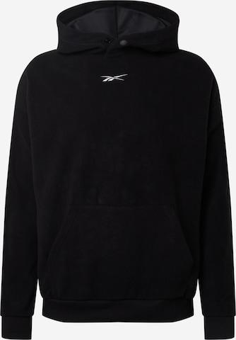 Reebok Sport Sport sweatshirt i svart