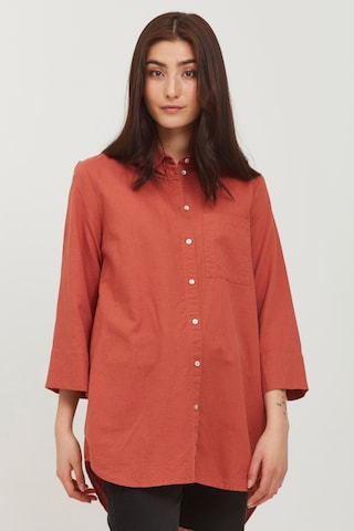 b.young Bluse in Rot