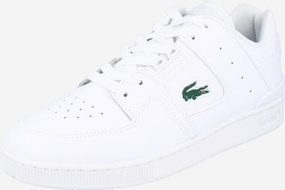 LACOSTE Baskets basses 'COURT CAGE' en vert / blanc, Vue avec produit